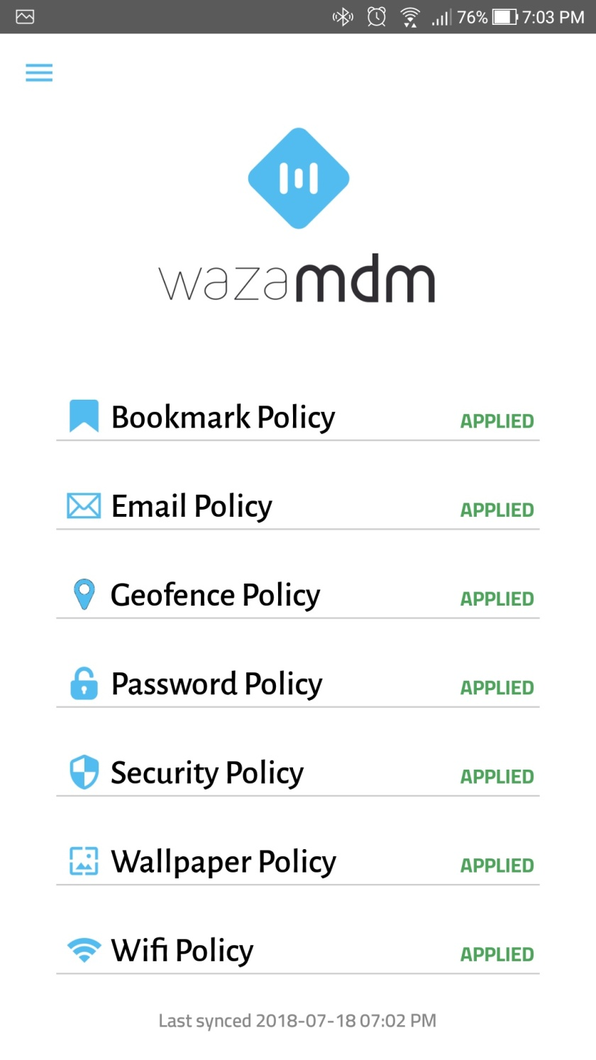 WaZa Mobile Application